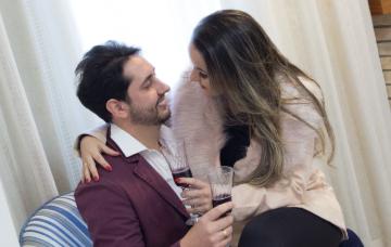 casal surpresa romântica